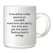 Friendship customised mug