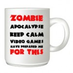 Zombie-Apocaplyse customised mug
