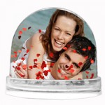 Personalised-Snow-Globe-Red-Logo