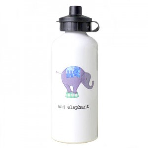 Personalised-Water-Bottle-White-B