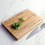 Personalised Cutting Boards