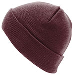 Personalised Aspen-Beanie-Burgundy