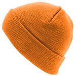 Personalised Aspen-Beanie-Cyber-Orange