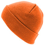 Personalised Aspen-Beanie-Orange