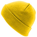 Personalised Aspen-Beanie-Yellow