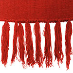 Personalised Aspen-Scarf-Red