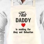 Personalised This Daddy Apron