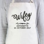Personalised Wifey Apron