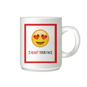 Emoji Mug I love your face